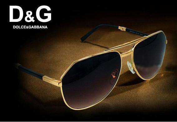 Kính mắt nam cao cấp Dolce Gabbana Gold Edition DG06