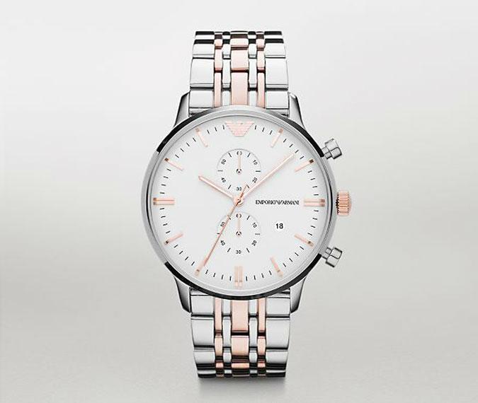 Đồng hồ nam thời trang cao cấp Armani AR0399