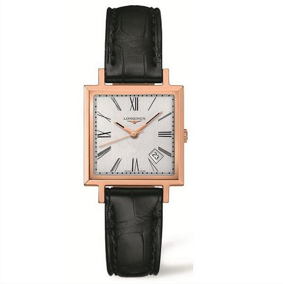 Đồng hồ nam dây da cao cấp Longines L01