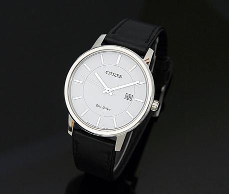 Đồng hồ nam dây da Citizen Eco-Drive BM6750-08A