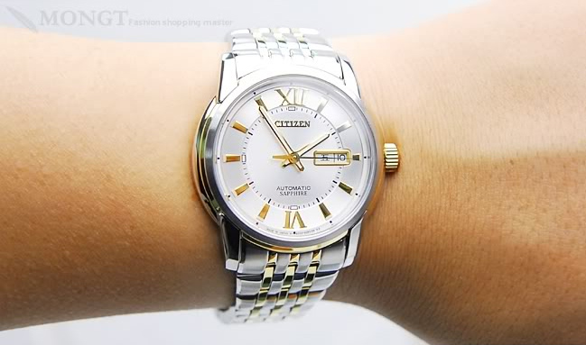Đồng hồ nam cao cấp Citizen Automatic NH8338