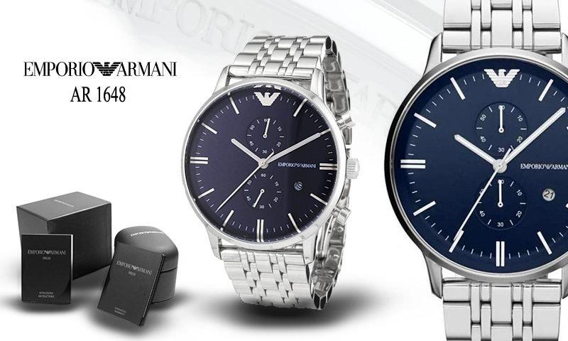 Đồng hồ nam cao cấp Emporio Armani AR1648