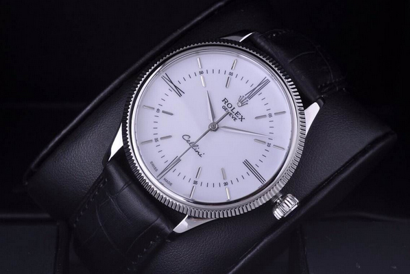 Đồng hồ nam Rolex Geneve Cellini Time White 50509
