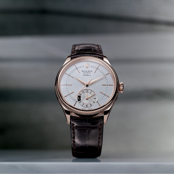 Đồng hồ nam Rolex Cellini Dual Time Day Night 50525
