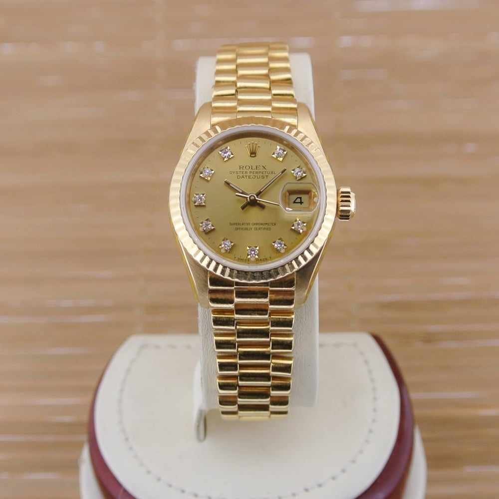 Đồng hồ nam Rolex Datejust RL09 Gold Watch