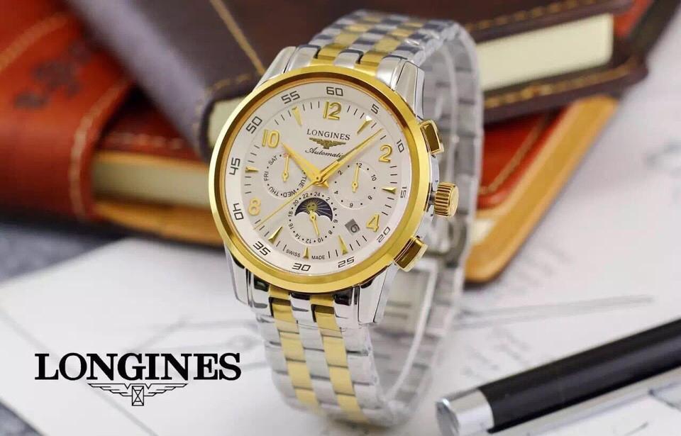 Đồng hồ nam máy cơ cao cấp Longines L2.733.9.73.3