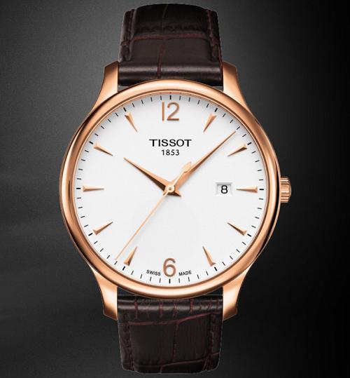 Đồng hồ Tissot 1853 nam dây da T063.610.36.037.00