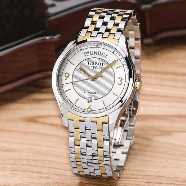 Đồng hồ cơ nam hàng hiệu Tissot T038.430.22.037.00