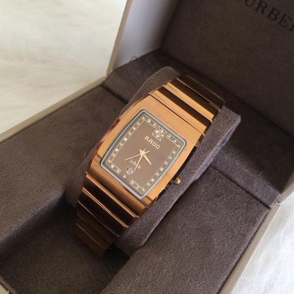 Đồng hồ nam cao cấp Rado Quartz RD02