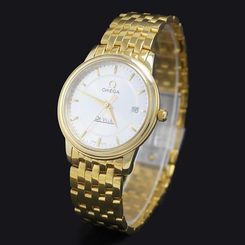 Đồng hồ nam hàng hiệu Omega Quartz De Ville 8316V