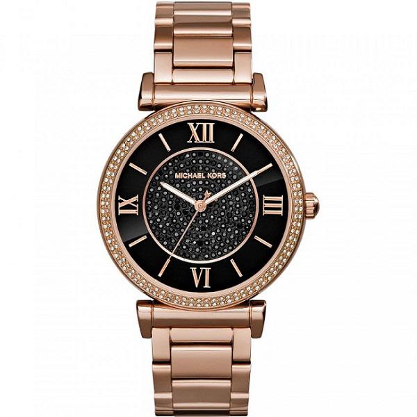 Đồng hồ nữ Michael Kors Catlin Rose Gold MK3356