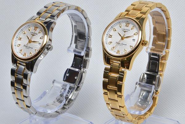 Đồng hồ nữ cao cấp Longines Quartz L2.128.5.77.7