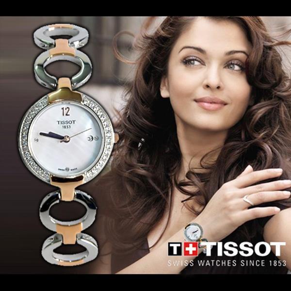 Đồng hồ nữ đính đá cao cấp Tissot Quartz T01