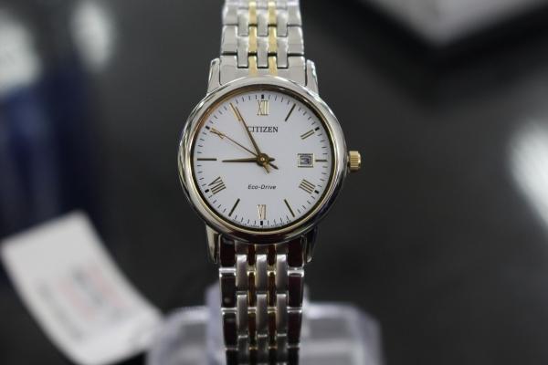 Đồng hồ nữ cao cấp Citizen Eco-Drive EW1584-59A