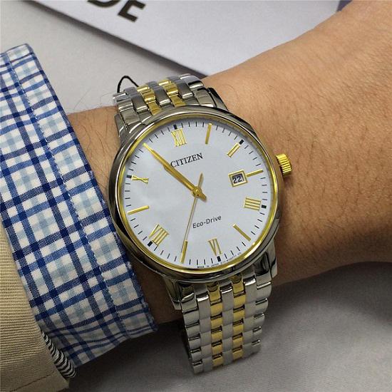 Đồng hồ nam cao cấp Citizen Eco-Drive BM6774-51A