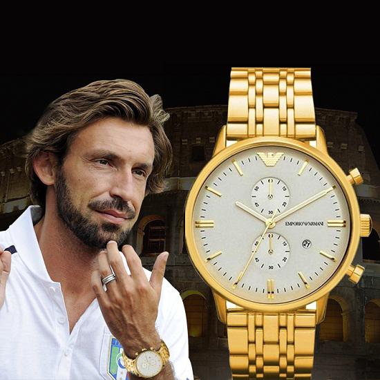 Đồng hồ nam hàng hiệu Emporio Armani AR0386FG