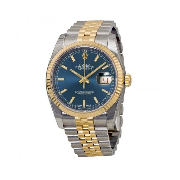 Đồng hồ nam Rolex Datejust 116233BLSJ 36mm