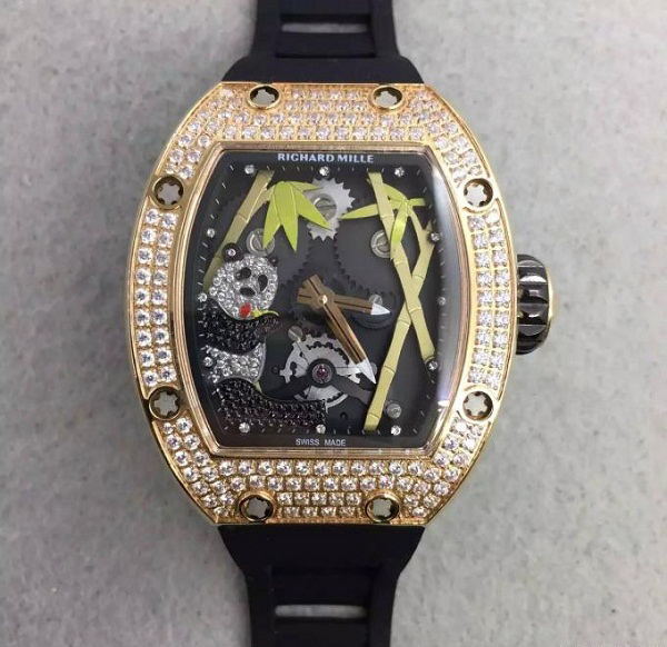 Đồng hồ nam cao cấp Richard Mille RM26-01 Gold