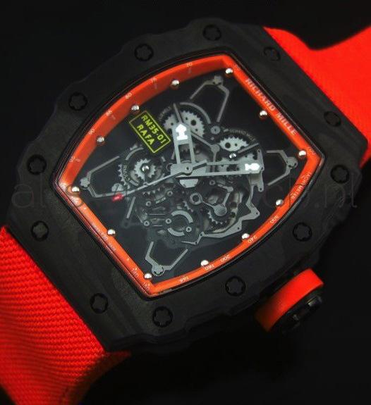 Đồng hồ nam cao cấp Richard Mille RM35-01 RAFA Red