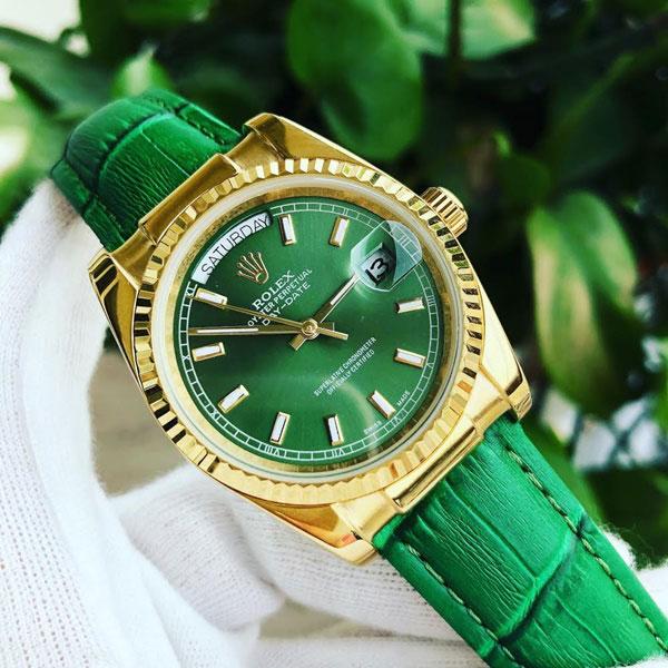 Đồng hồ nam hàng hiệu Rolex Day Date 118138-003