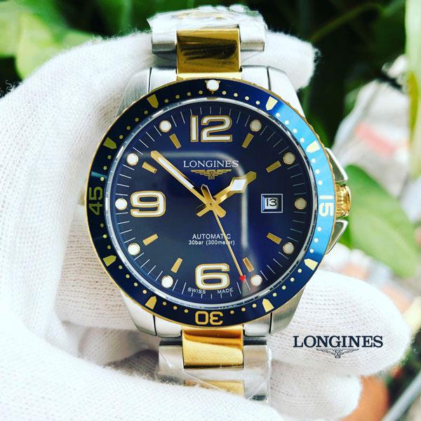Đồng hồ nam Longines Hydroconquest L3.742.3.96.7