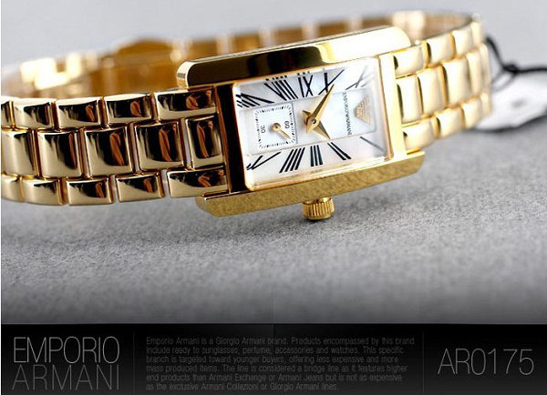 Armani Ladies Watches AR0175