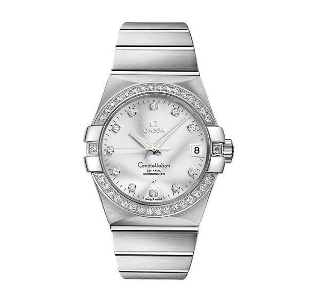 Đồng hồ nam Omega Constellation Co-Axial Chronometer 123.55.38.21.52.003