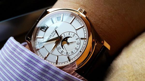 76669895733 Đồng hồ nam cao cấp Patek Philippe Automatic 5205R-001