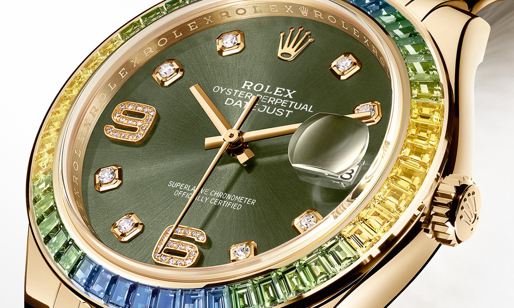 Rolex Datejust Pearlmaster 39 Gold Watch