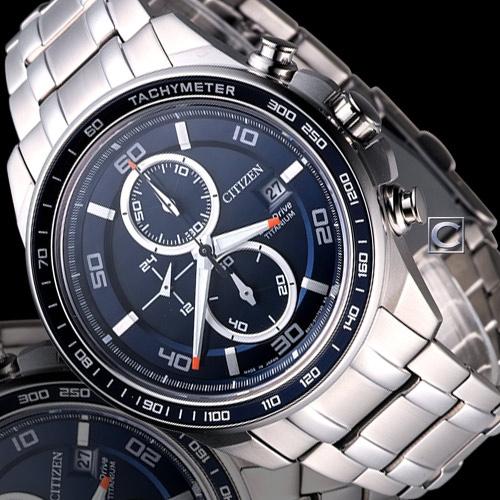 Đồng hồ nam Citizen Eco-Drive CA0346-59L