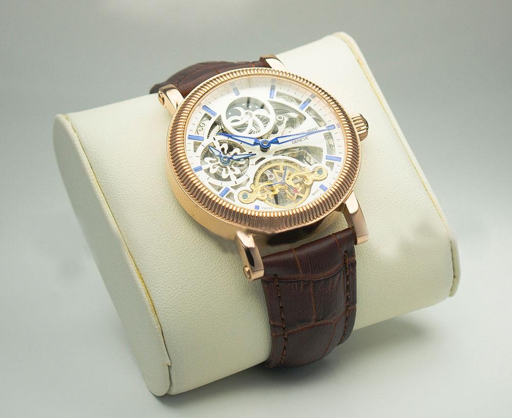 Đồng hồ nam dây da cá sấu Patek Philippe PP08
