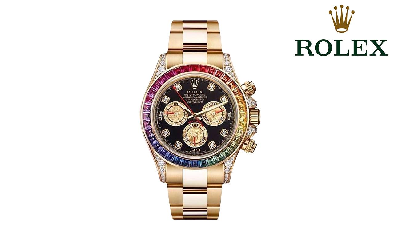 Đồng hồ nam cao cấp Rolex Daytona Rainbow 116598