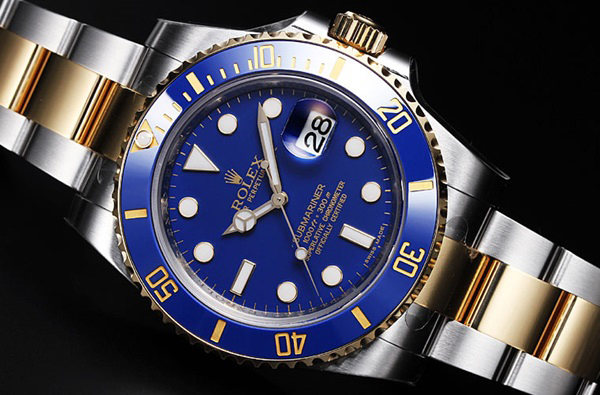 Đồng hồ nam Rolex Automatic Blue Light Submariner