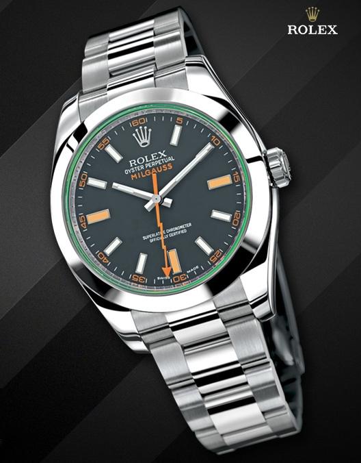 Đồng hồ Rolex Oyster Perpetual Milgauss 116400GV
