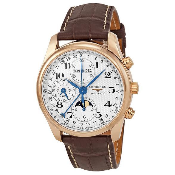 Đồng hồ nam dây da Longines L2.673.8.78.3 Automatic