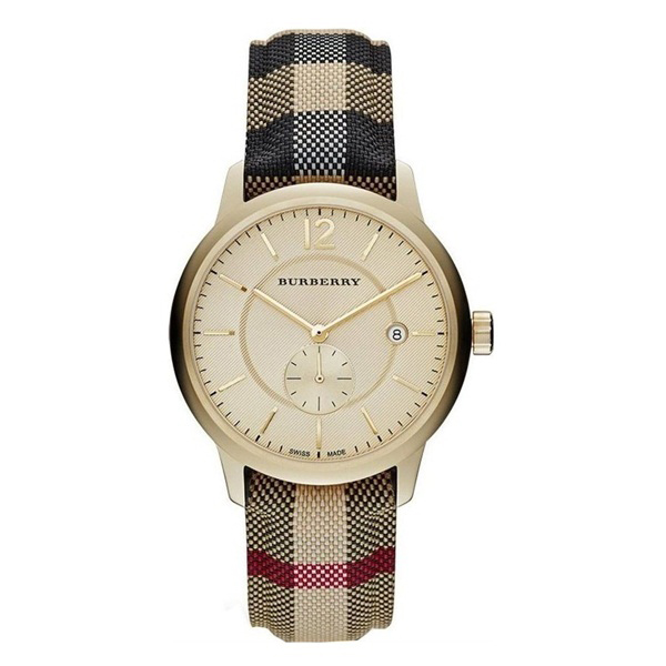 Đồng hồ nữ dây da Burberry Quartz BR04