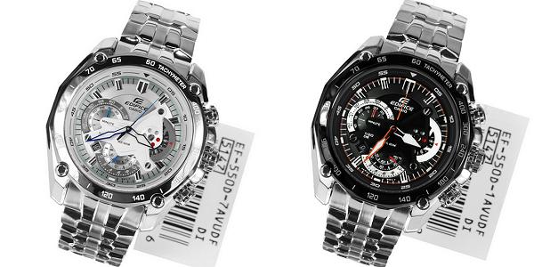 Đồng hồ nam cao cấp Casio Quartz Edifice EF-550D