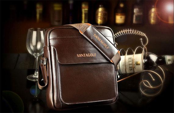 Túi xách nam da thật cao cấp Santagolf GS01