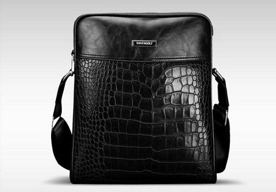 Túi xách nam công sở da thật Santagolf GS02