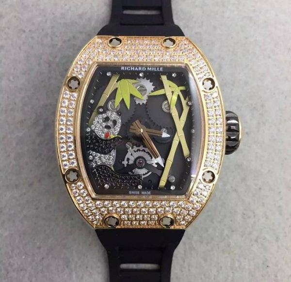 Đồng hồ nam cao cấp Richard Mille RM26-01 Gold