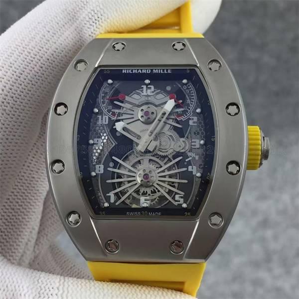 Đồng hồ nam cao cấp Richard Mille Automatic RM021