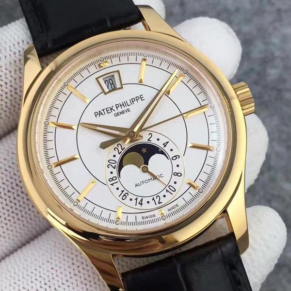 Đồng hồ nam cao cấp mạ vàng 18K Patek Philippe DH-B5