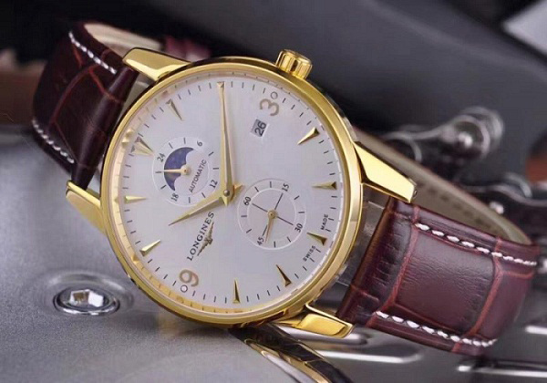 Đồng hồ nam dây da cao cấp Longines Automatic LG15