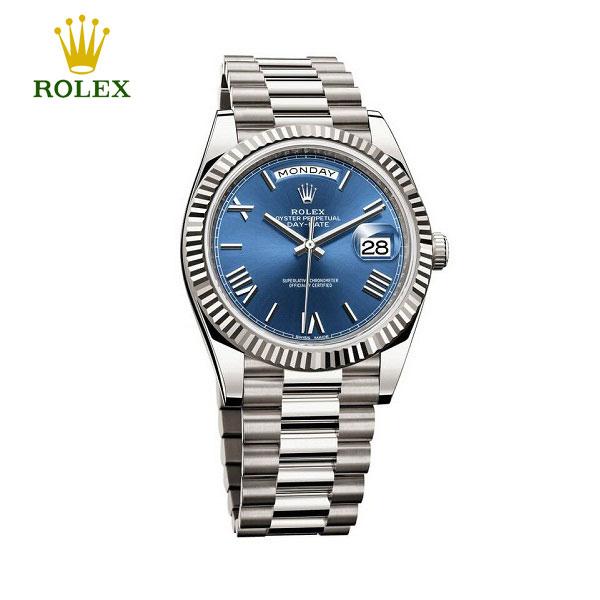 Đồng hồ nam Rolex Day-Date 228239 Blue Roman